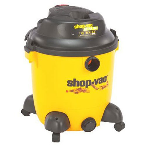 Shop-Vac 9633400 6.5-Peak HP Ultra Pro Series 12-Gallon Wet or Dry Vacuum with Detachable Blower with Tool Storage, Uses Type U Cartridge Filter Type R Foam Sleeve & Type F Filter Bag