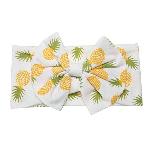 Diamondo 2pcs Baby Infant Swaddle Wrap Blanket Pineapple Print Sleeping Bag Headband by Diamondo (Image #3)