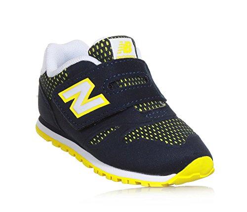 New KA373NRI Bleu Petite Balance Garçon Sneakers HHwqZSar