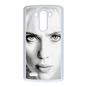 LG G3 Cell Phone Case White hb11 scarlett johansson lucy film sexy face LSO7789107