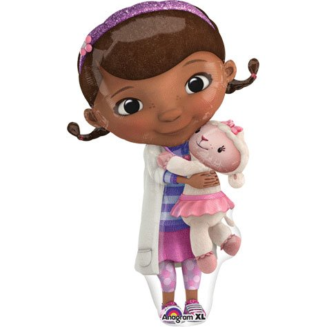 Disney Junior 22-inch Doc McStuffins Supershape Foil Balloon]()
