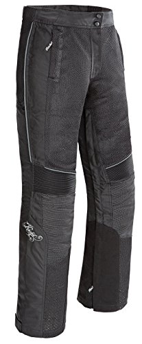 Large Womens Motorcycle Pants (Joe Rocket Cleo Elite Women's Textile Motorcycle Pants (Black, Large))
