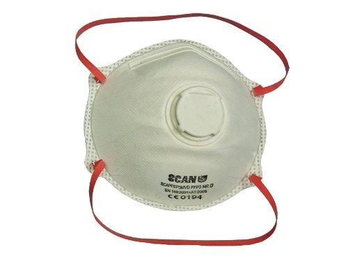 Scan Moulded Disposable Valved Masks (2 Ffp 3