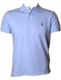 Mens Big & Tall Slim Fit Mesh Polo Shirt