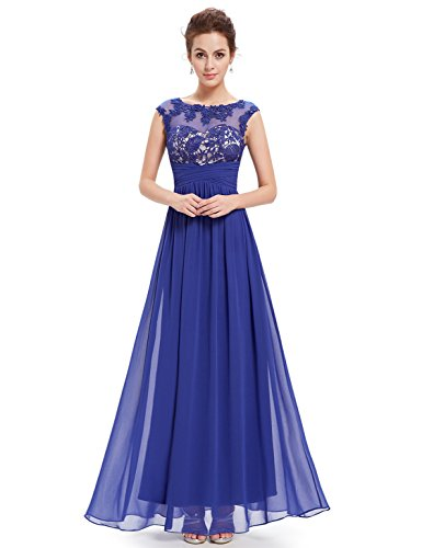 Ever-Pretty Womens Floor Length Mother Of The Bride Groom Dress 10 US Sapphire Blue