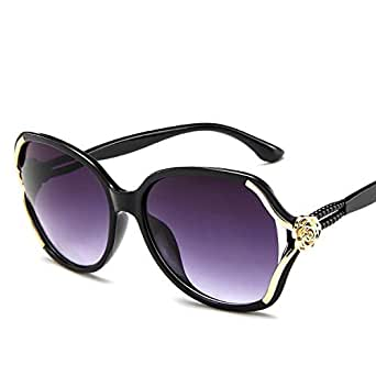 Y&D Women's Top Fashion Sunglasses UV Protection Retro Style Patchwork All Match Eyeglasses Multi Color