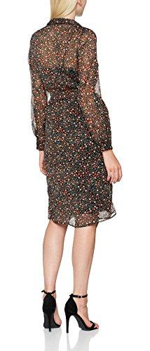 Gestuz Mally Long Shirt, Blusa para Mujer Mehrfarbig (Small dot print 90294)