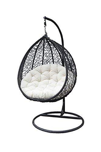 Hindoro Single Seater Hanging Swing Chair with Cushion
