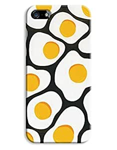 Indie Fashion Fried Egg Yellow Pattern Design For Ipod Touch 4 Phone Case Cover Hard