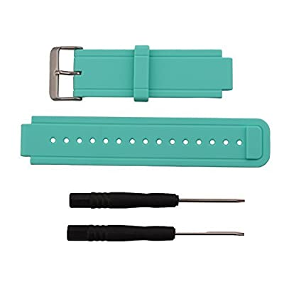 Replacement band for Garmin Vivoactive, Silicone Replacement Fitness Bands Wristbands with Metal Clasps for Garmin vivoactive GPS Smart Watch