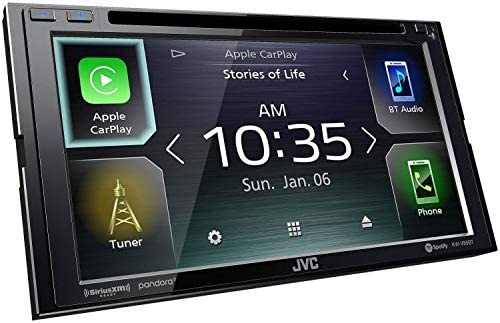 JVC Double DIN Bluetooth
