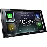 JVC KW-V85BT Compatible with Android Auto/Apple Carplay CD/DVD Stereo/Bluetooth