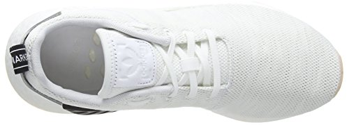 r2 White Mujer Adidas S16 NMD para Crystal White Zapatillas Blanco Ftwr Black Core 1HO56