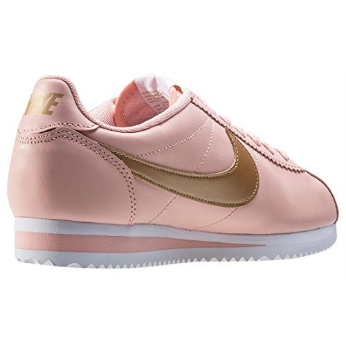 the latest 86b92 a7368 Nike Classic Cortez Leather Womens Trainers Pink Peach - 5.5 UK  Amazon.co.uk Shoes  Bags
