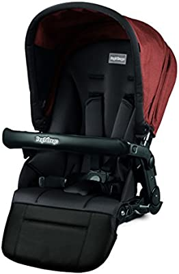Peg Perego Pop-Up Seat for Team Duette and Triplette Strollers Terracotta