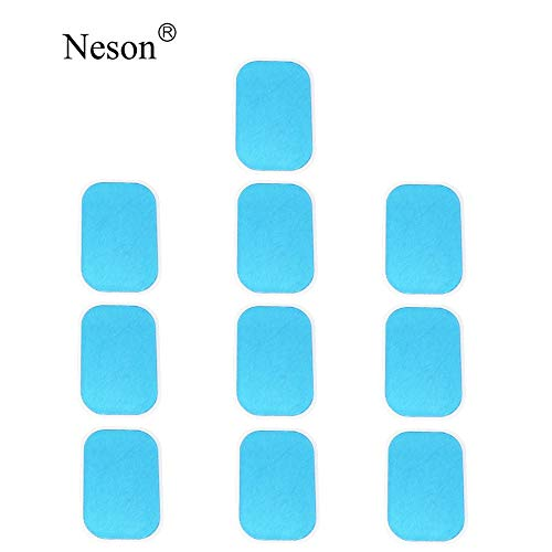 Mailstone ABS Trainer Replacement Gel Pads Abdominal Trainer Accessories Mobile-Gym Smart Fitness EMS Fit Boot Toner Gel Sheets