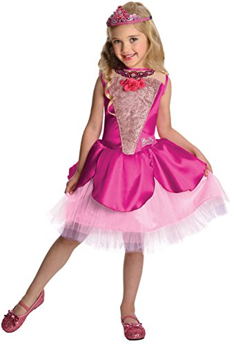 Girls Barbie Costumes (Barbie in The Pink Shoes Deluxe Kristyn Costume, Small)
