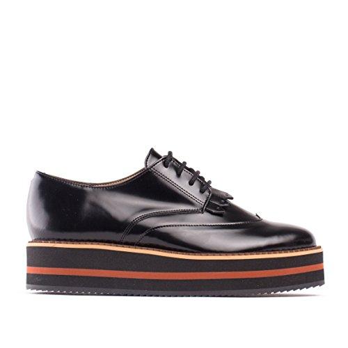Mujer Zapatos Veganos Nae Negro De Sandra 5EBEqwxrI