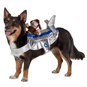 Top Paw ~Pet Pilot Rider Dog (Pilot Dog Costumes)