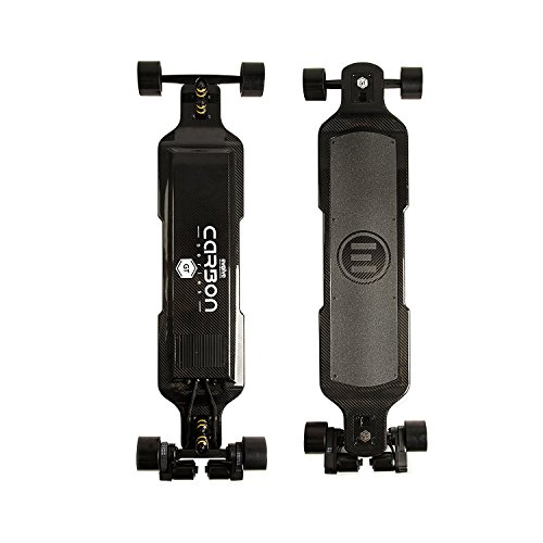 Buy Discount Evolve Skateboards – Carbon GT Series Electric Skateboard (26 MPH Top Speed / 31 Mile...
