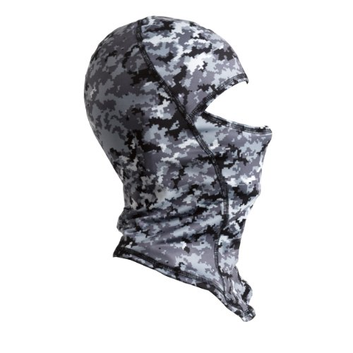 Turtle Fur Ninja Balaclava , Gender: Mens/Unisex, Primary Color: Gray, Distinct Name: Digi Camo 465742-628