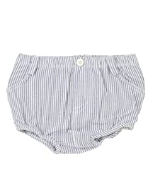 RuggedButts Infant / Toddler Boys Boys Seersucker Bloomer - Blue Seersucker - 0-3m