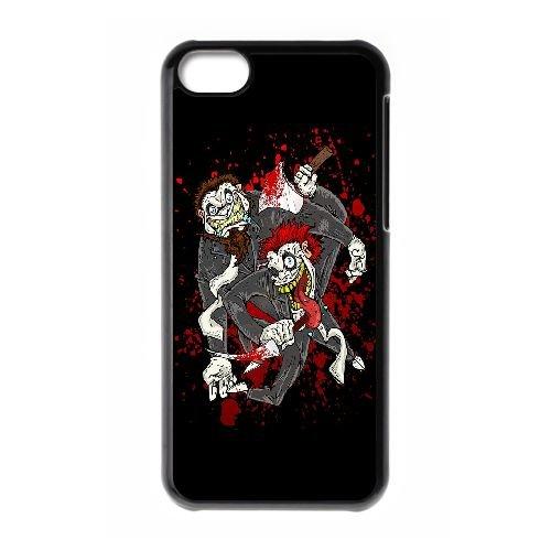 Twiztid Toons S Parallax RZ38SI9 coque iPhone sanglante affaire de téléphone cellulaire 5c coque Z7KP7D5ET