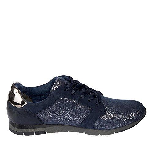 Tamaris - Zapatos de cordones para mujer Blau (Blau)