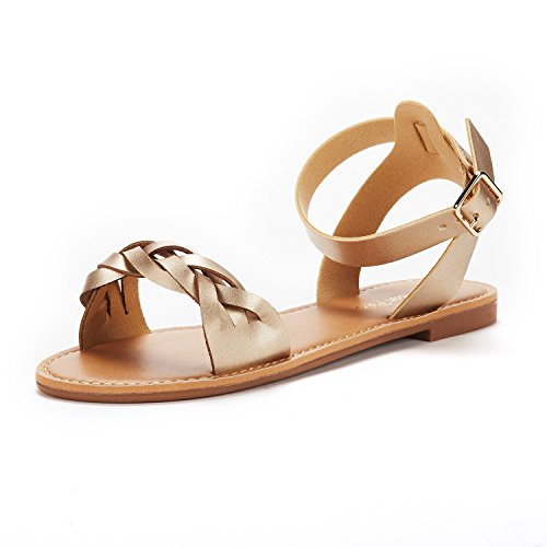 05 Gold Women Sandal - 3