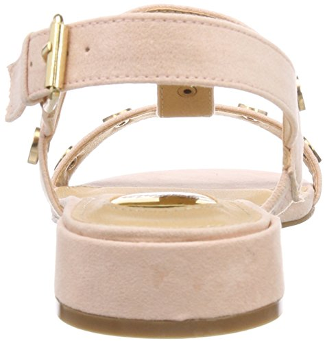 pink209 Bhwmd Donna Imi T Beige 317215 A Sandali Suede Chiusura Con Buffalo PORqwE