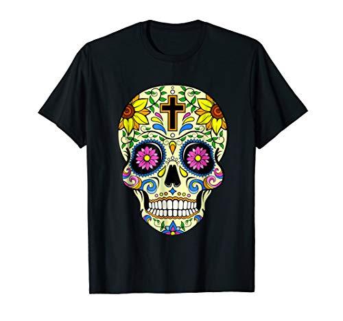Day Of The Dead Halloween Costume Dia de los Muertos T-Shirt