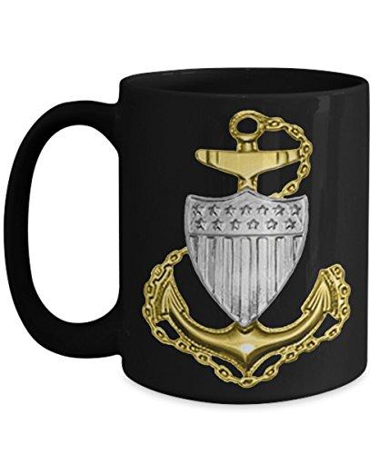 Coast Guard Coffee Mug - Chief Petty Officer (CPO) - Gift for USCG Chief Petty Officer