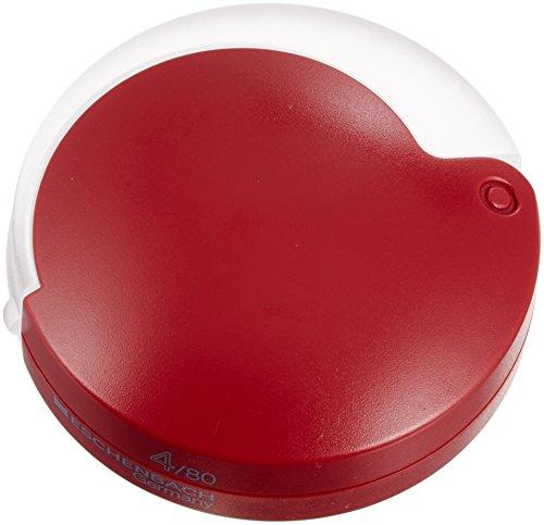 - Eschenbach Magnifying glass Mobilent 4X folding magnifier, red