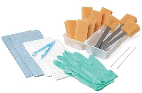 Medline Industries DYND70661 Dry Skin Scrub Tray, Premium Kit (Pack of 20)