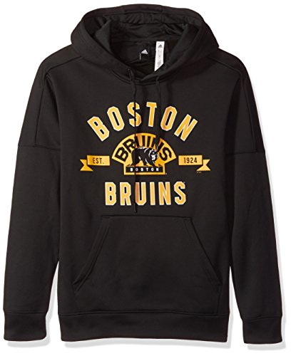 Fleece Boston Bruins Pullover - NHL Boston Bruins Mens Misconduct Team Issue Fleece Pullover Hoodmisconduct Team Issue Fleece Pullover Hood, Black, Medium