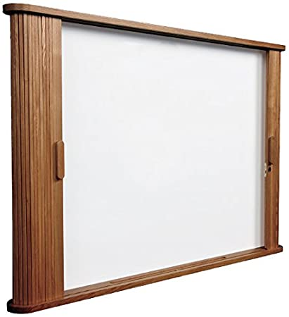 Superbe Balt 25010 Conference Room Cabinet, Magnetic Dry Erase Board, 44w X 32h X