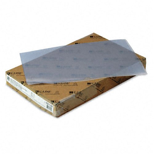 C-Line : Deluxe Project Folders, Jacket, Legal, Vinyl, Clear, 50/bx -:- Sold as 2 Packs of - 50 - / - Total of 100 Each