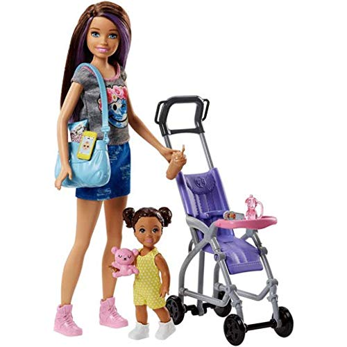Barbie Skipper Babysitters Inc. Doll and Stroller Playset from Barbie