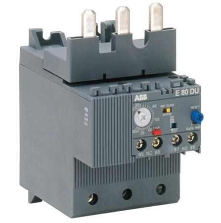 ABB E80DU80 27 - 80 Amp, Electronic Overload Relay