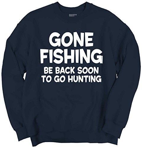 Galleon Brisco Brands Gone Fishing Shirt Back Deer Hunting