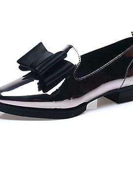 NJX/ Zapatos de mujer-Tacón Plano-Puntiagudos-Mocasines-Vestido / Casual
