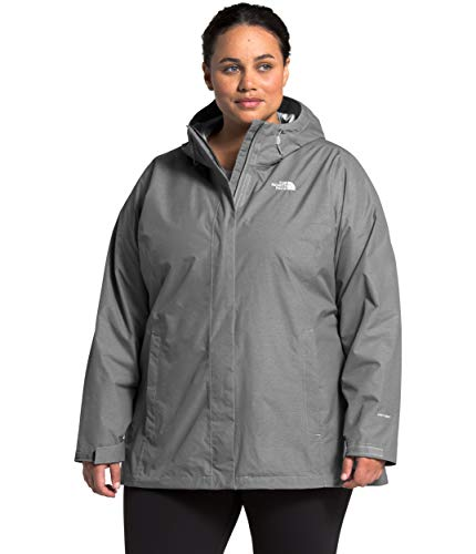 The North Face Women's Plus Size Venture 2 Waterproof Hooded Rain Jacket
