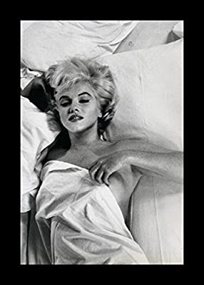 "buyartforless Framed "" Marilyn Monroe Hot Mess"" Art Print Rare Photograph Wall Decor, 12"" X 18"""