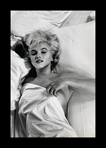 Buyartforless IF IF ENT002X 12x18 1.25 Black Plexi Framed Marilyn Monroe Hot Mess Art Print Rare Photograph Wall Decor, 12
