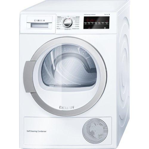 Bosch Serie 6 WTW85490 Libera installazione Carica frontale 8kg A++ Bianco asciugatrice
