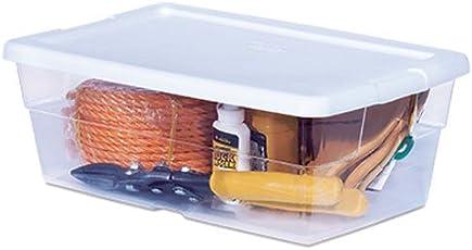 STERILITE 16428012 6-Quart Storage Box 12-Pack White Lid with  sc 1 st  Amazon.com & Storage Containers | Amazon.com