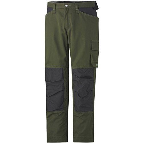 Helly Hansen West Ham 76424 Work Trousers Cordura D116 green by Helly Hansen Workwear