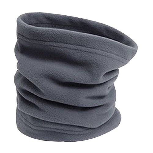 Gotoole 4 In 1 Winter Sports Thermal Fleece Scarf Snood Neck Warmer Face Mask Beanie Hat