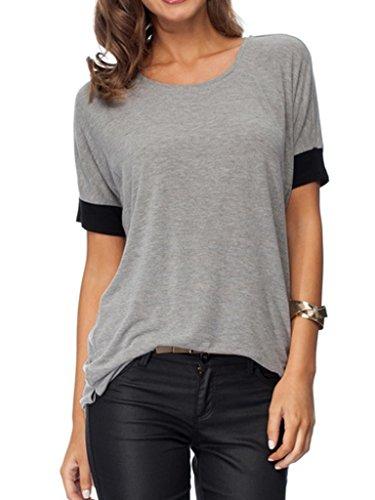 Persun Womens Loose Sleeve T shirt