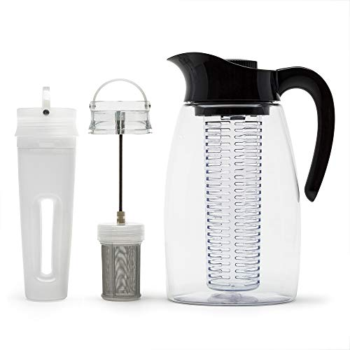 water and tea infuser pitcher - 2
